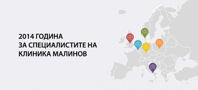 2014 година за специалистите на клиника Малинов